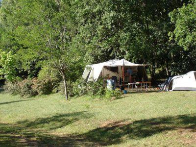 Emplacements<br /> de camping